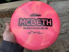 New Discraft Paul Mcbeth 2020 Tour Series Luna Z Blend Pink 173g