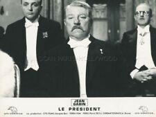 JEAN GABIN BERNARD BLIERLE PRESIDENT 1961 PHOTO ORIGINAL #13