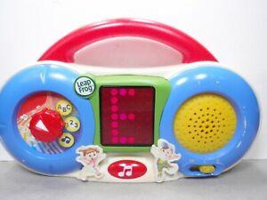 Leapfrog Fridge DJ Toy Lights Music Talking Learning Talking Magnet Radio 2005