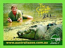 STEVE IRWIN postcard AUSTRALIA ZOO The Crocodile Hunter nature conservation man