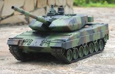 RTR Model Heng Long 1/16 Leopard 2A6 Radio Control RC Tank Smoke & Sound 2.4Ghz