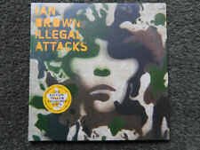 "Ian Brown - Illegal Attacks 7"" LTD Edition Yellow Coloured Vinyl/Gatefold (Mint)"
