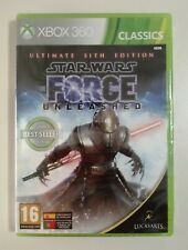 XBOX 360 STAR WARS THE FORCE UNLEASHED PAL