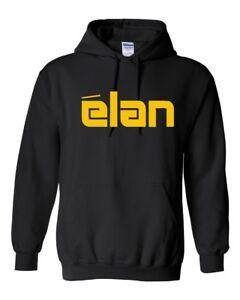 ELAN Ski Doo Vintage Snowmobile Hoodie Sweatshirt Sizes to 5XL