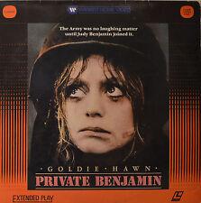 "PRIVADO BENJAMIN - GOLDIE HAWN - LASERDISC 12"" LD (O149)"