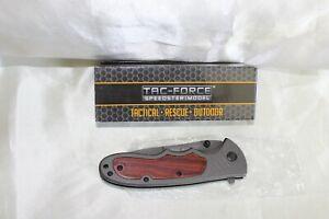 Tac-Force Speedster Folding Knife TF 887 Tactical Line Custom Design Handmade