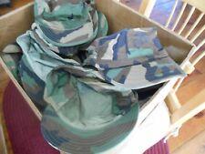 USMC US Military Issue BDU Patrol Hat Cap Hot Woodland Camo SIZE SMALL