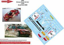 DÉCALS 1/24 réf 1402 Citroen Saxo Kit Car  Loeb  Auxerrois 2000