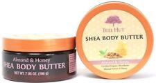 2 Tree Hut Shea Body Butter Almond Honey Certified Organic Almond Extract 7 oz