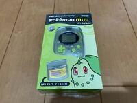 Pokemon mini Console CHICORITA GREEN BOX and Manual Brand