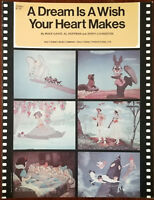 "A Dream Is A Wish Your Heart Makes from Walt Disney's ""Cinderella"" – Pub. 1949"