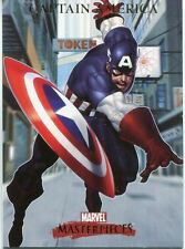 Marvel Masterpieces 2007 Base Card #16 Captain America