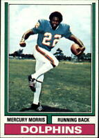 1974 Topps Football 376-528 plus 26 Team cards Pick Your Player Cheap Shipping