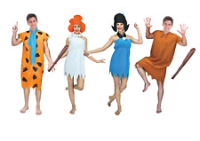Adult Flintstones family Costume Betty Barney Rubble Wilma Flintstone fred cave