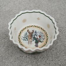 Villeroy & Boch Toy's Fantasy Christmas Dish Reindeer Snow Small Candy Bowl