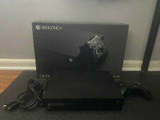 Microsoft Xbox One X 4K 1TB Console- Controller and Vertical Stand Included