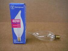 Westinghouse 40W Clear Bulb CA-9 1/2 120V 03275