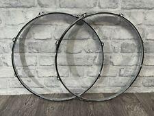 """More details for natal 16"""" drum hoops rims 8 lug hardware tension (new) #ho782"""