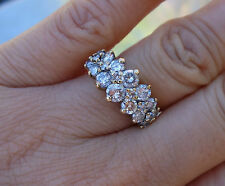 1.40ct Paramid vintage diamond right-hand ring or wedding band Inclusions