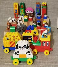 Lego Duplo Animals, Train & Vintage People - 61 Pieces