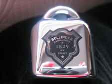 More details for bollinger champagne fizz saver stopper bnib chrome metal new