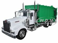 KENWORTH W900 GARBAGE TRUCK 1/32 DIECAST MODEL BY NEW RAY 10533 D