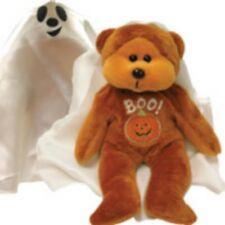 Skansen Beanie Kid Spooky The Ghost Bear Mint With Mint Tag Limitd Edition 10/04