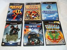 Lot of 6 Games for the Nintendo Game Cube with Cases and Instruction Booklets