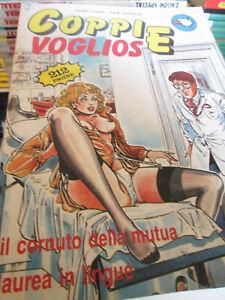 Coppie vogliose n. 4 - Edizione originale - Fumetto per adulti