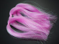 Dyed-Pearl Flashabou Accent Fly Tying Materials ,Available In 8 Colors
