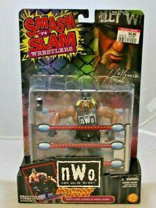 WCW WWF Smash 'N Slam N.W.O. Hollywood Hogan Wrestling Figure Toy Biz 1999 NIB