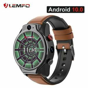 LEMFO LEM14 Smart Watch 4G 5ATM Waterproof Android 10 Helio P22 Chip 4G 64GB LTE