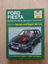HAYNES WORKSHOP MANUAL FORD FIESTA 1995 TO 2002 PETROL AND DIESEL