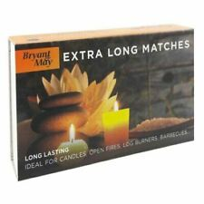 More details for bryant & may extra long safety matches home candle fire barbecue long lasting