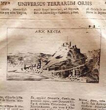 FRANCIA ,FRANCE,Martinica ,Arx Regia. Le Fort-Royal Lasor a Varea, 1713