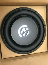 "Memphis 10"" shallow subwoofer SA10S4  single 4 ohm voice coil.  New!"