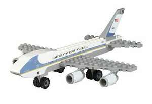 Air Force One Construction block toy 55 pieces