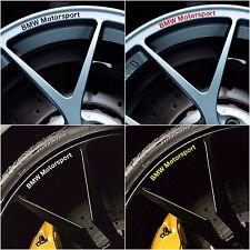 BMW Motorsport Rims Alloy Wheel Decals Stickers Series 1 2 3 4 5 6 e30 e36 e46 m