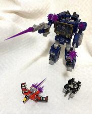 Transformers Siege SOUNDWAVE Laserbeak & Ravage War for Cybertron WFC Complete