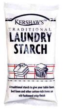 3 x Kershaw's Laundry Starch Powdered Starch Laundry Washing Starch 200g