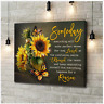 Butterfly And Sunflower Someday Everything Happens For A Reason Poster  No Frame