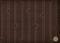 Crypton® Pallas Textiles Infinite Helix Eggplant Contemporary Upholstery Fabric