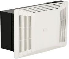Bathroom Ceiling Exhaust Bath Fan Heater White Vent Quiet Air Operates Warm Room