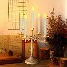 6Pcs Tea Flameless Flickering Remote Control LED Candle Lights Party Christmas