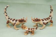 Klima Miniature Porcelain Animal Figure Thorny Devil  Lizard Family M162