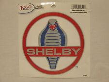 Shelby Cobra Medallion Decal - 3''