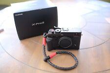 Fujifilm X-Pro2 W/Box, MHG-XPRO2 Handgrip, Lensmate LM XP2 Thumb Grip, + Extras
