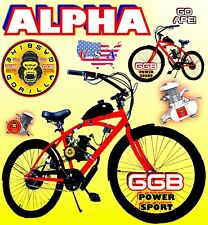 "66cc/80cc 2-Stroke Motorized Bike Kit And 26"" Bike Motor Bike Diy Powerful"