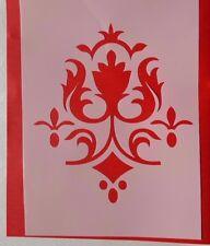 1001 Schablonen Stencils Wandtattoo Möbel Leinwand Textilgestaltung Airbrush