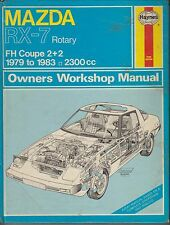MAZDA RX-7 RX7 2+2 SPORTS COUPE 1979 - 1983 OWNERS WORKSHOP MANUAL * HARDBACK *